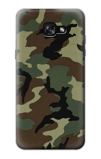 Printed Army Green Woodland Camo Samsung Galaxy A7 (2017) Case