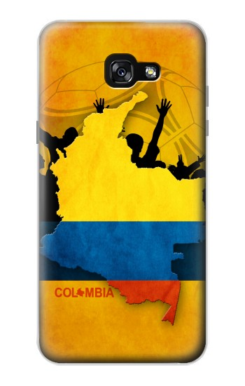 Printed Colombia Football Flag Samsung Galaxy A7 (2017) Case