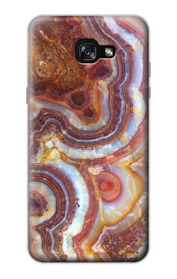 Printed Colored Marble Texture Printed Samsung Galaxy A7 (2017) Case