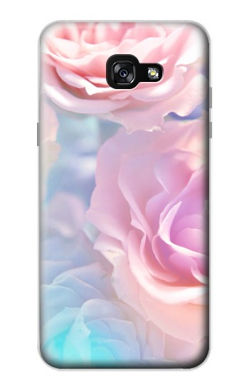Printed Vintage Pastel Flowers Samsung Galaxy A7 (2017) Case