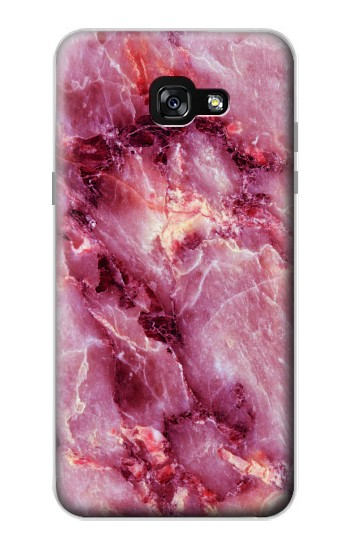 Printed Pink Marble Texture Samsung Galaxy A7 (2017) Case