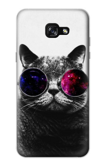 Printed Cool Cat Glasses Samsung Galaxy A7 (2017) Case