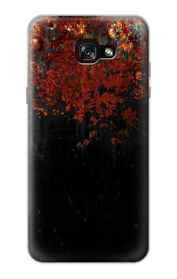 Printed Rusted Metal Texture Samsung Galaxy A7 (2017) Case