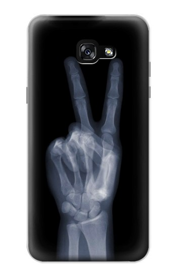 Printed X-ray Peace Finger Samsung Galaxy A7 (2017) Case