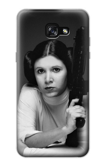 Printed Princess Leia Carrie Fisher Samsung Galaxy A7 (2017) Case