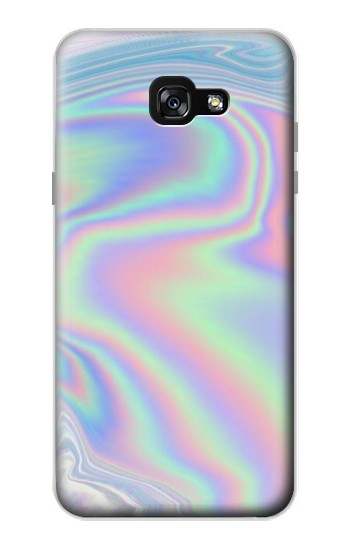 Printed Pastel Holographic Photo Printed Samsung Galaxy A7 (2017) Case