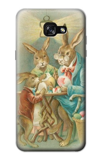 Printed Easter Rabbit Family Samsung Galaxy A7 (2017) Case