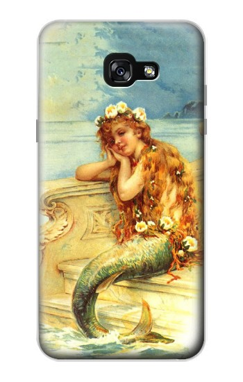 Printed Little Mermaid Painting Samsung Galaxy A7 (2017) Case