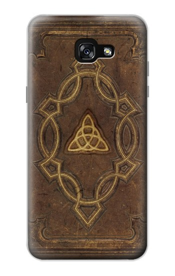 Printed Spell Book Cover Samsung Galaxy A7 (2017) Case