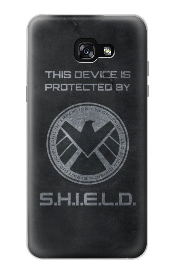 Printed This Device is Protected by Shield Samsung Galaxy A7 (2017) Case