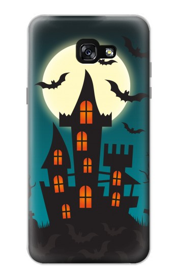 Printed Halloween Festival Castle Samsung Galaxy A7 (2017) Case