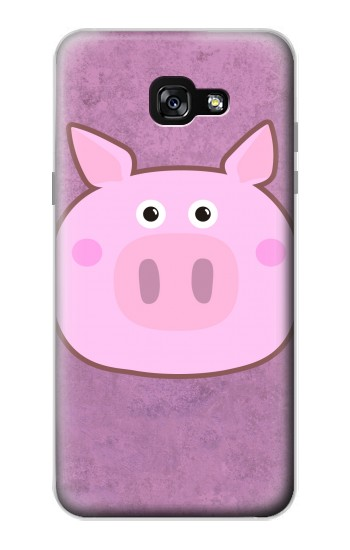Printed Pig Cartoon Samsung Galaxy A7 (2017) Case