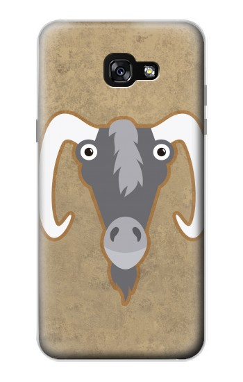 Printed Goat Cartoon Samsung Galaxy A7 (2017) Case