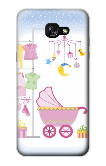 Printed Baby Supplies Samsung Galaxy A7 (2017) Case