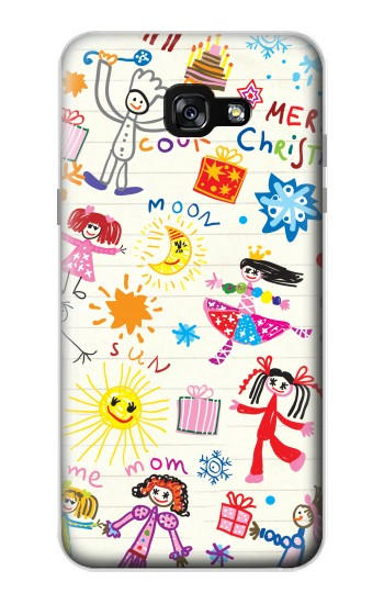 Printed Kids Drawing Samsung Galaxy A7 (2017) Case