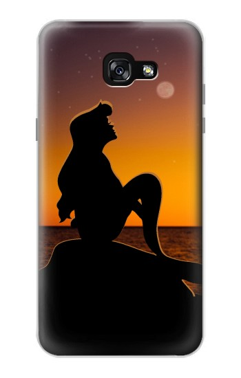 Printed Mermaid Sunset Samsung Galaxy A7 (2017) Case