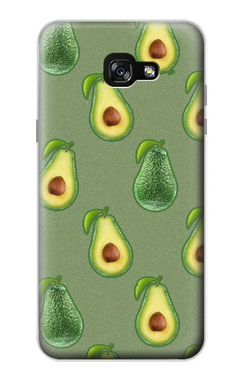 Printed Avocado Fruit Pattern Samsung Galaxy A7 (2017) Case