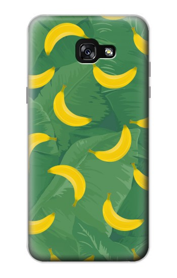 Printed Banana Fruit Pattern Samsung Galaxy A7 (2017) Case