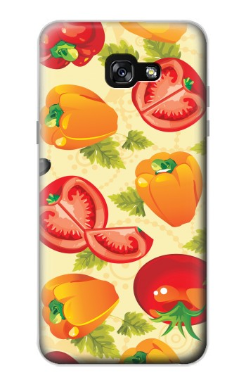Printed Seamless Food Vegetable Samsung Galaxy A7 (2017) Case