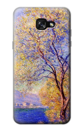 Printed Claude Monet Antibes Seen from the Salis Gardens Samsung Galaxy A7 (2017) Case