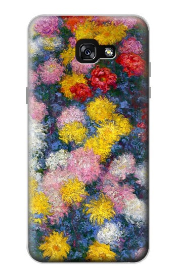 Printed Claude Monet Chrysanthemums Samsung Galaxy A7 (2017) Case