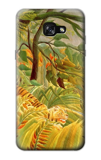 Printed Henri Rousseau Tiger in a Tropical Storm Samsung Galaxy A7 (2017) Case