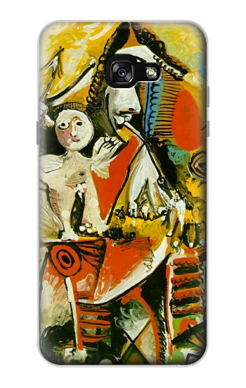 Printed Picasso Painting Cubism Samsung Galaxy A7 (2017) Case