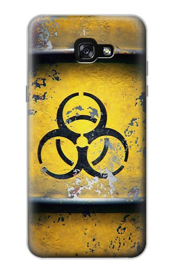 Printed Biological Hazard Tank Graphic Samsung Galaxy A7 (2017) Case