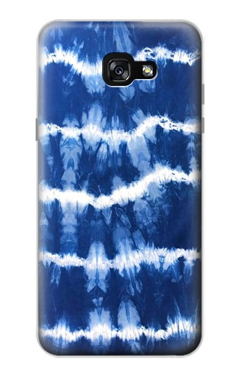 Printed Blue Tie Dye Samsung Galaxy A7 (2017) Case