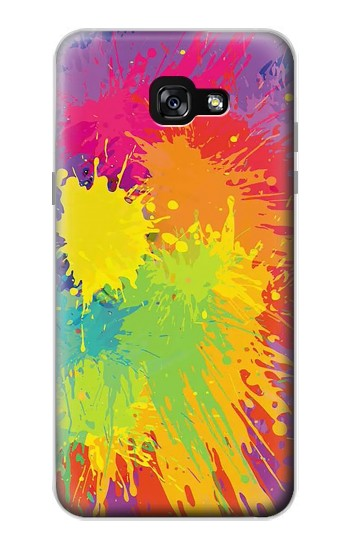 Printed Color Splash Samsung Galaxy A7 (2017) Case