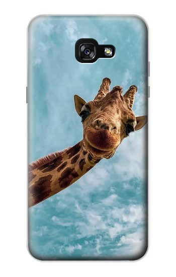 Printed Cute Smile Giraffe Samsung Galaxy A7 (2017) Case