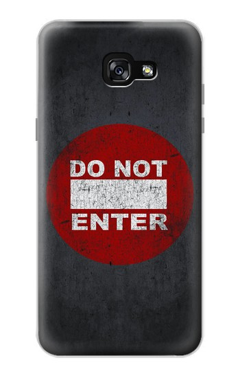 Printed Do Not Enter Samsung Galaxy A7 (2017) Case