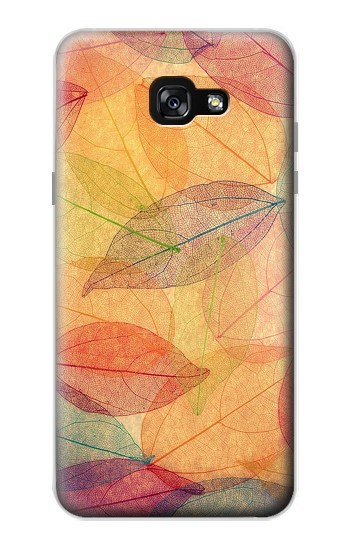 Printed Fall Season Leaf Autumn Samsung Galaxy A7 (2017) Case