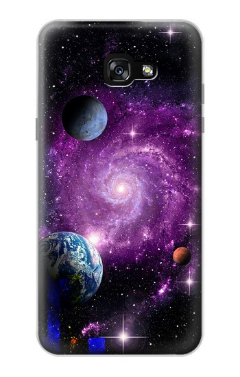 Printed Galaxy Outer Space Planet Samsung Galaxy A7 (2017) Case
