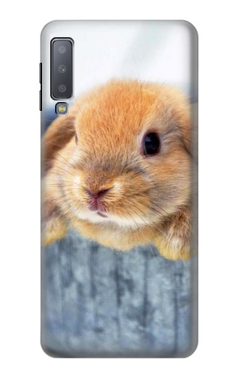 Printed Cute Rabbit Samsung Galaxy A7 (2018) Case