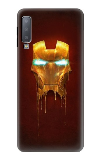 Printed Ironman Mask Samsung Galaxy A7 (2018) Case