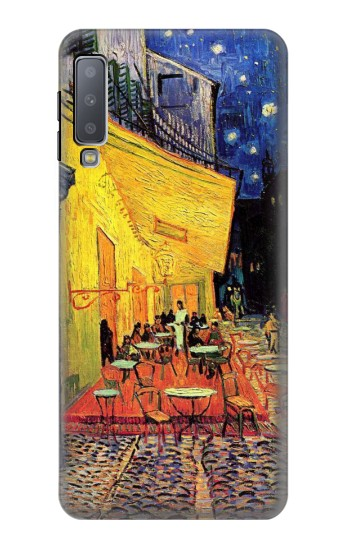 Printed Van Gogh Cafe Terrace Samsung Galaxy A7 (2018) Case