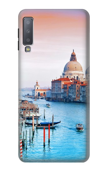 Printed Beauty of Venice Italy Samsung Galaxy A7 (2018) Case