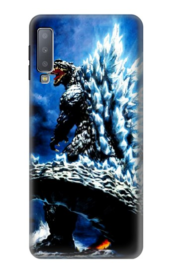 Printed Godzilla Giant Monster Samsung Galaxy A7 (2018) Case