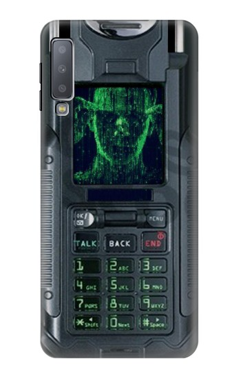 Printed The Matrix Mobile Phone Graphic Printed Samsung Galaxy A7 (2018) Case