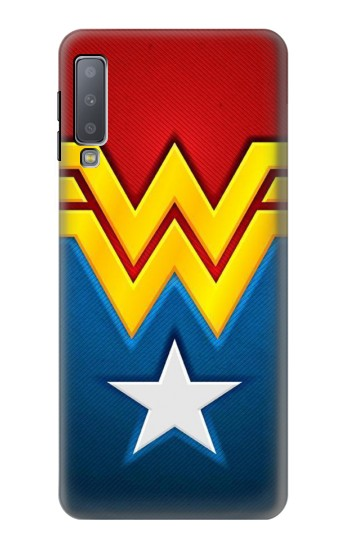 Printed Wonder Women Logo Samsung Galaxy A7 (2018) Case