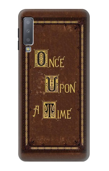 Printed Once Upon a Time Book Cover Samsung Galaxy A7 (2018) Case