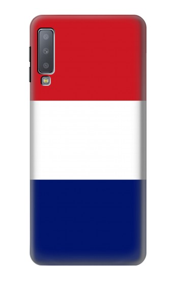 Printed Flag of France and the Netherlands Samsung Galaxy A7 (2018) Case