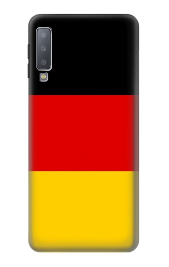 Printed Flag of Germany Samsung Galaxy A7 (2018) Case