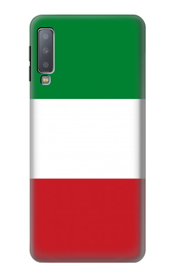Printed Flag of Italy and Mexico Samsung Galaxy A7 (2018) Case