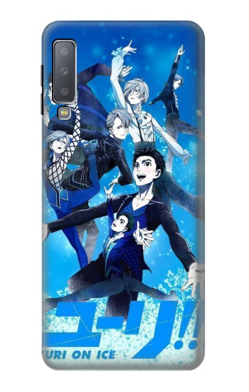 Printed Yuri On Ice Samsung Galaxy A7 (2018) Case