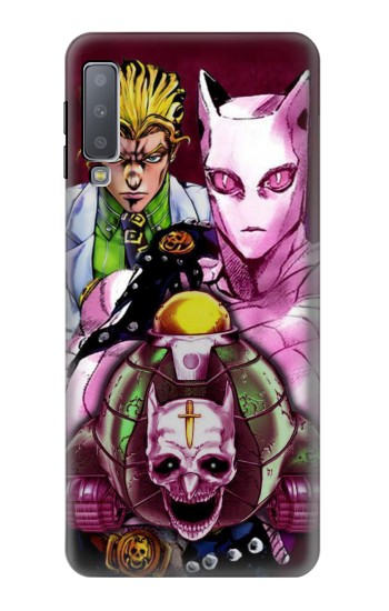 Printed Jojo Bizarre Adventure Kira Yoshikage Killer Queen Samsung Galaxy A7 (2018) Case