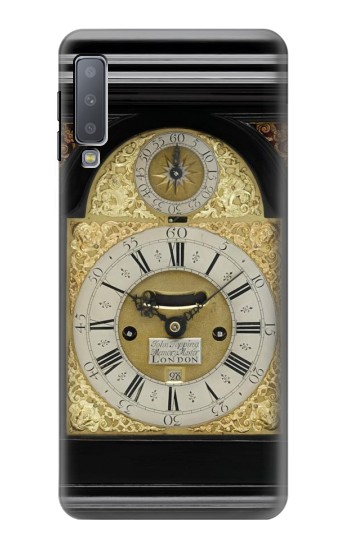 Printed Antique Bracket Clock Samsung Galaxy A7 (2018) Case