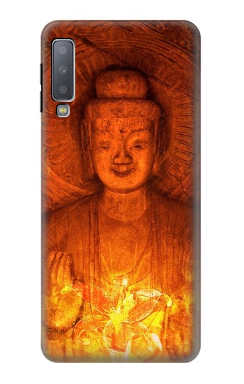 Printed Buddha Spiritual Holy Lights Samsung Galaxy A7 (2018) Case