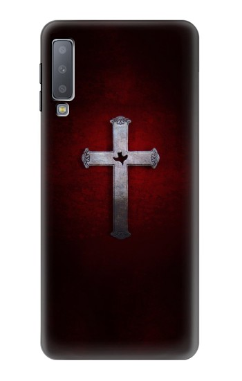Printed Christian Cross Samsung Galaxy A7 (2018) Case
